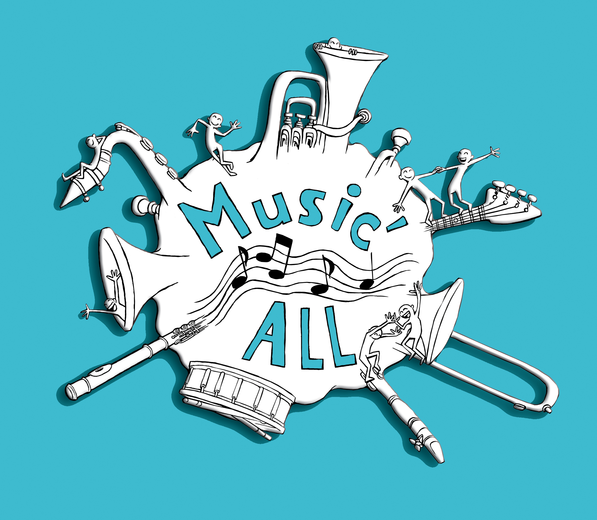 Logo music'all bleu compresse